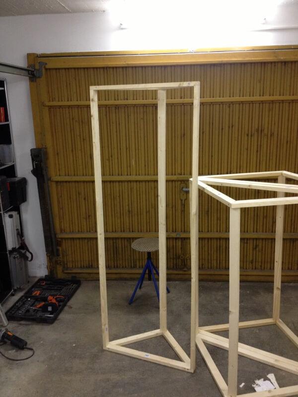 Bassabsorber Superchunks selbst bauen - Holzrahmen 1