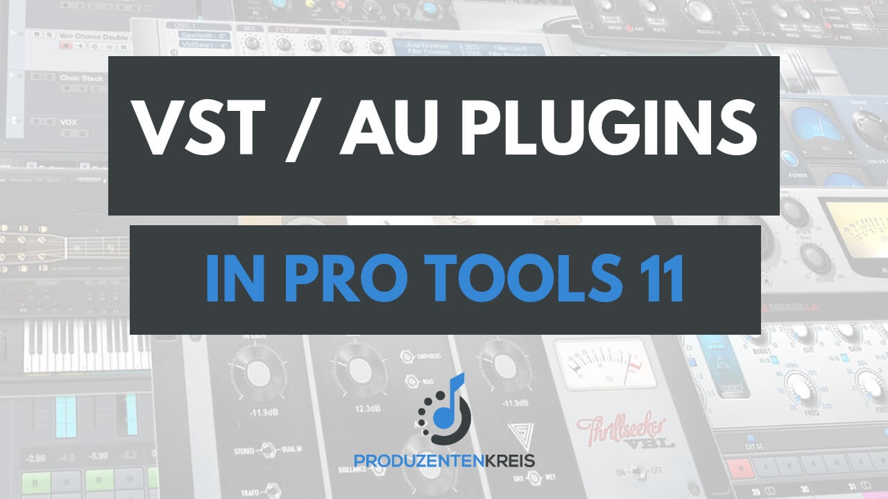 VST AU Plugins in ProTools 11 verwenden DDMF Metaplugin