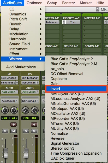 ProTools-11-Phase-umkehren-AudioSuite