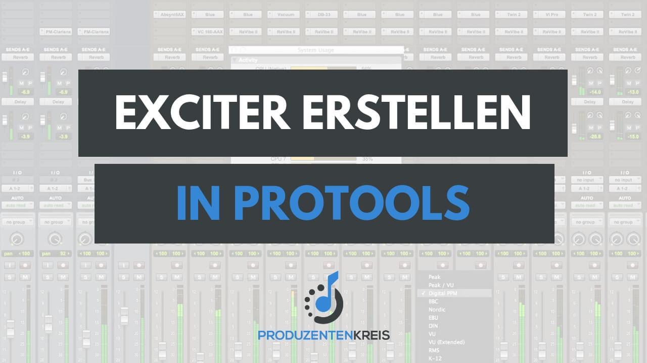Exciter in ProTools selbst erstellen - selber bauen mit EQ und Kompressor