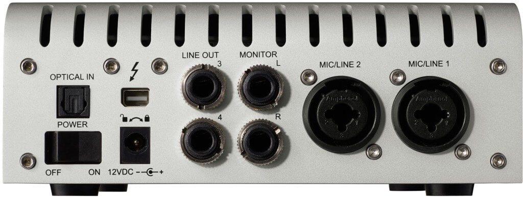 Universal-Audio-Apollo-Twin-Duo-Anschlüsse